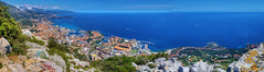 Monaco afternoon from Tete de Chien P2060556_57_58_59_60_61_62 Stitch - Photo of Beaulieu-sur-Mer
