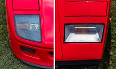 Ferrari F40 vs Lamborghini Countach - Photo of Gouvieux