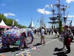 Un éléphant à l'Armada