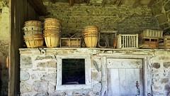 La ferme Reverdy - Patrimoine des Monts du Lyonnais - La soue à cochons - Photo of Courzieu
