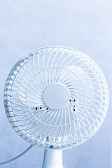 White home electric ventilator