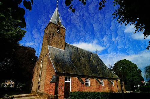 Dutch Reformed Church, Oene, Gelderland.
