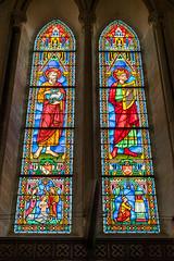 Kirchenfenster in der Kathedrale von Bayeux