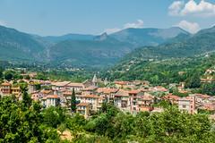 Sospel - schöner Ort nach der Abfahrt vom Turini