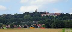 Cassel panorama vue sur la Collégiale Notre-Dame
