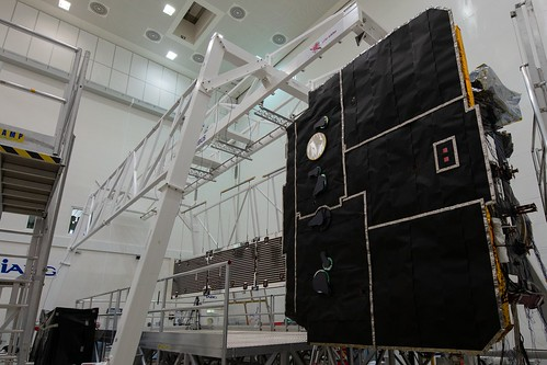 Solar Orbiter array deployment