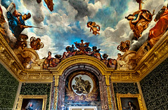 Artwork in the interior of Versailles, France--29a - Photo of Châteaufort