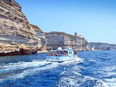 France, la Corse, les falaises de Bonifacio