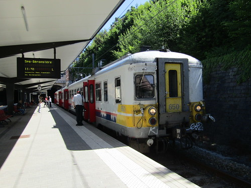 NMBS 650 at Verviers-Central
