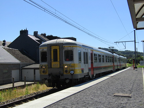 NMBS 653 at Juslenville