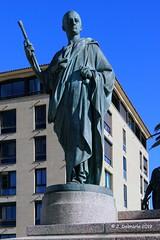 2A AJACCIO - Statue de Joseph Bonaparte