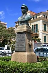 2A AJACCIO - Buste du Lieutenant Sylvestre Marcaggi