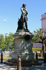 2A AJACCIO - Statue du Général Jean Charles Abbatucci