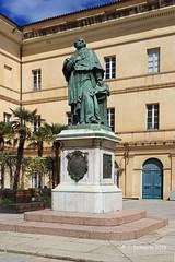 2A AJACCIO - Statue du Cardinal Fesch