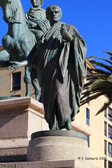 2A AJACCIO - Statue de Lucien Bonaparte