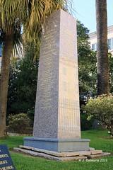 2A AJACCIO - Monument des présidents, conseillers généraux et départementaux de Corse