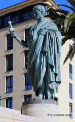 2A AJACCIO - Statue de Jérôme Bonaparte