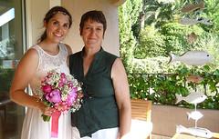 La mariée et sa fleuriste privée - Photo of Sanary-sur-Mer