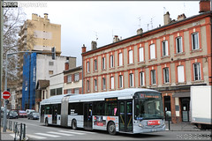 Heuliez Bus GX 437 hybrid - Tisséo Voyageurs / Tisséo n°1667 - Photo of Toulouse