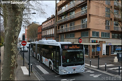Mercedes-Benz Citaro G C2 NGT - Tisséo Voyageurs / Tisséo n°1761 - Photo of Toulouse