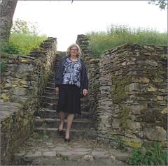 2019 - 06 -  Karoll - 0049 - Château de Blot-le-Rocher, Saint-Rémy-de-Blot - Photo of Sainte-Christine