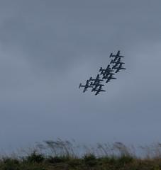 Italian aerobatic demonstration team - Photo of Sanguinet