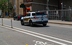 Pittsburgh Police Squad Car - Strip District