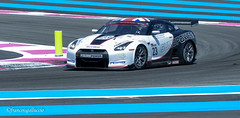 Nissan GT-R R35 2010 Chassis 10-0001 - Michael Krumm (GER) / Peter Drumbeck (GER) - Photo of Le Beausset