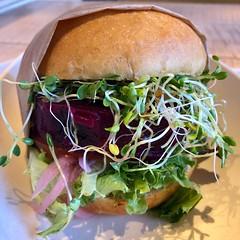 Beetsteak Burger at Jose Andres's Beefsteak Restaurant