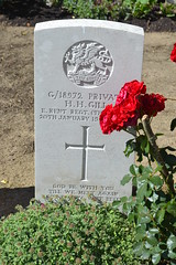 CWGC Private Herbert Henry Gill - Photo of Fampoux