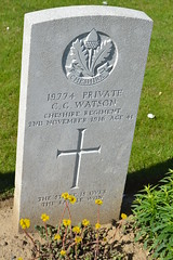 CWGC Private Charles George Watson - Photo of Fampoux