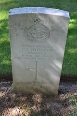 CWGC Sergeant (Navigator)  Patrick John Whelton - Photo of Thélus