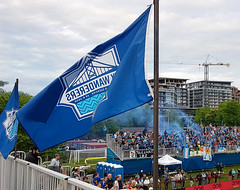 The Kitchen after a goal - Halifax Wanderers