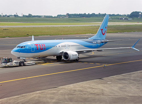 OO-MAX Boeing 737-8 MAX