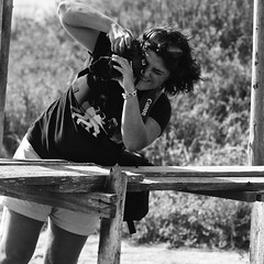 A Photographer photographing