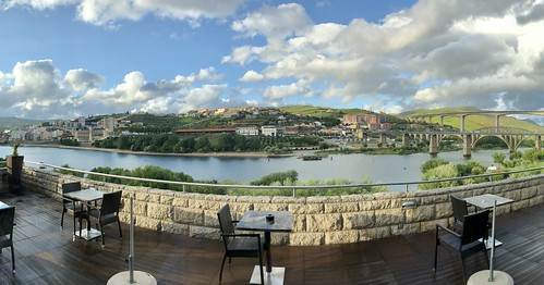 View of Douro River from our hotel