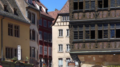 A peek down the Rue des Orfèvres - Photo of Wolfisheim