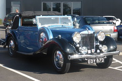 MG 2.6 Litre WA Tickford Drophead Coupe (1939)