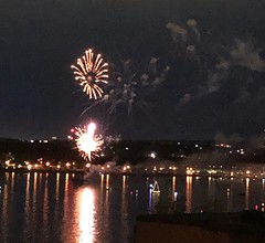 2019 Barrie Ontario Canada Day Fireworks