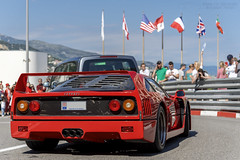 Ferrari F40 - Photo of Èze