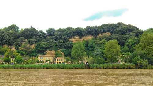 Photo 09. Dans l'estuaire de la Gironde. Troglodytes