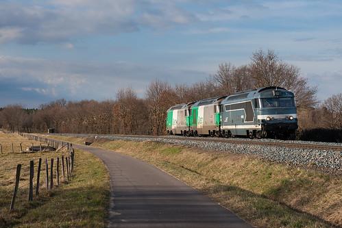 Train de machines pour Sibelin