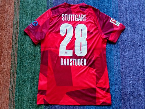 VFB Stuttgart match worn shirt 2019/20 Holger Badstuber