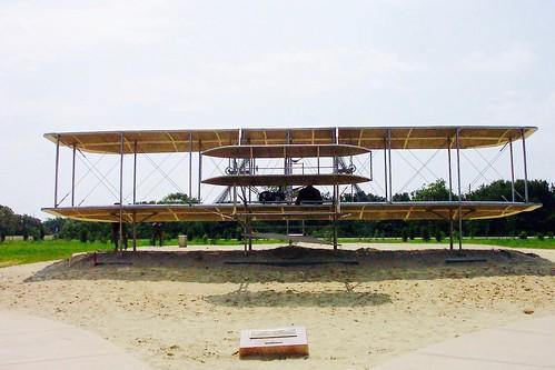Wright Brothers National Memorial --  Kill Devil Hills -  North Carolina - USA  -  Mans First Flight