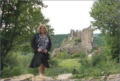 2019 - 06 -  Karoll - 0050 - Château de Blot-le-Rocher, Saint-Rémy-de-Blot - Photo of Sainte-Christine