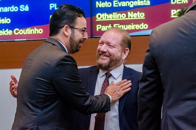 Angelo Santos acompanha votação de PLs do Judiciário na Assembleia Legislativa