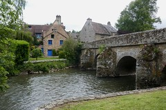 La Sarthe, Saint Céneri-le-Gérei, Alpes mancelles, Orne, Normandie, France. - Photo of La Ferrière-Bochard