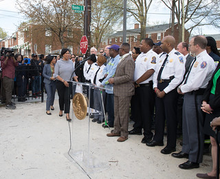 April 10, 2019 MMB Led Joint Press Conference and Community Walk with Prince George's County Executive Angela Alsobrooks