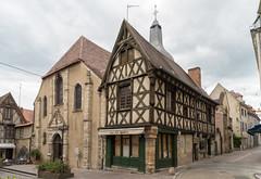 1791 Montluçon- Place Saint-Pierre et église