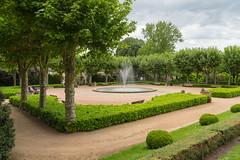 1788 Montluçon - Jardins près de l'église Notre-Dame